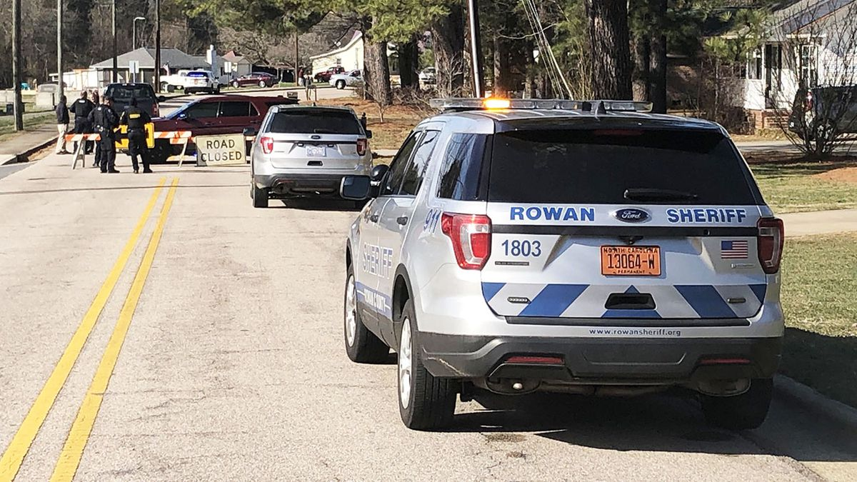 Dos muertos tras aparente asesinato-suicidio en condado de Rowan