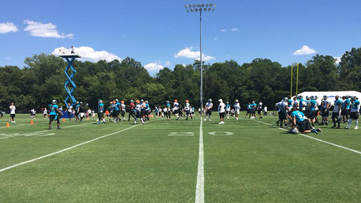 South Carolina city hopes to keep Panthers training camp