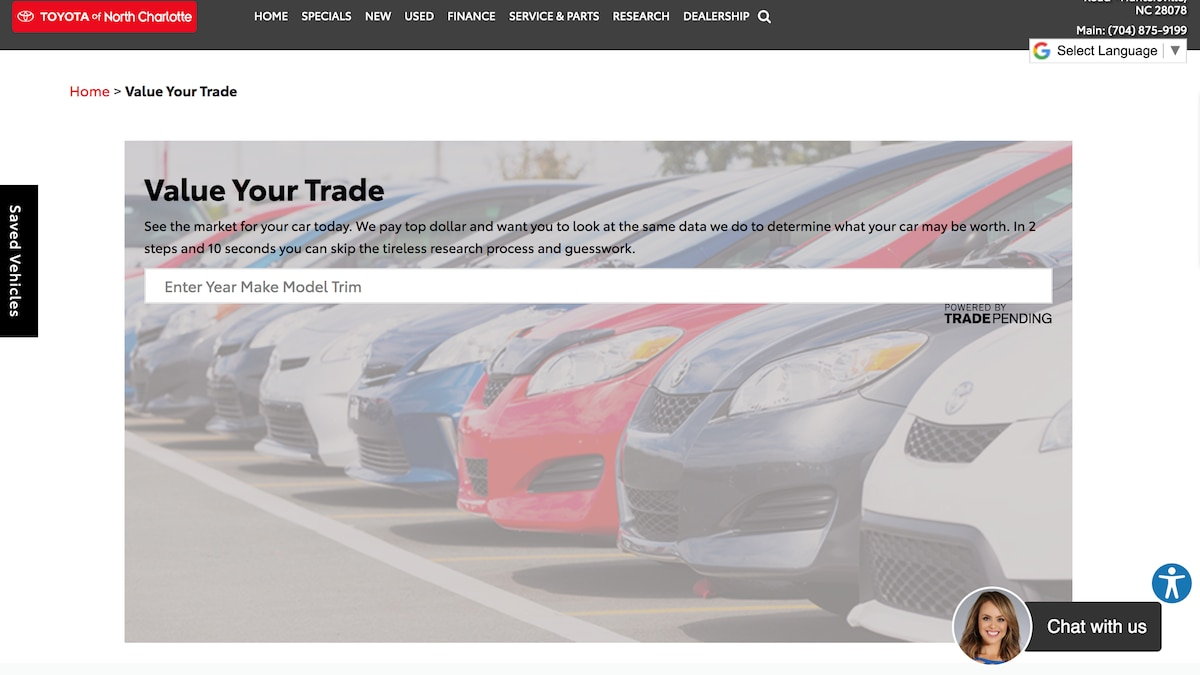SPONSORED: Do your car shopping online with Toyota of N Charlotte
