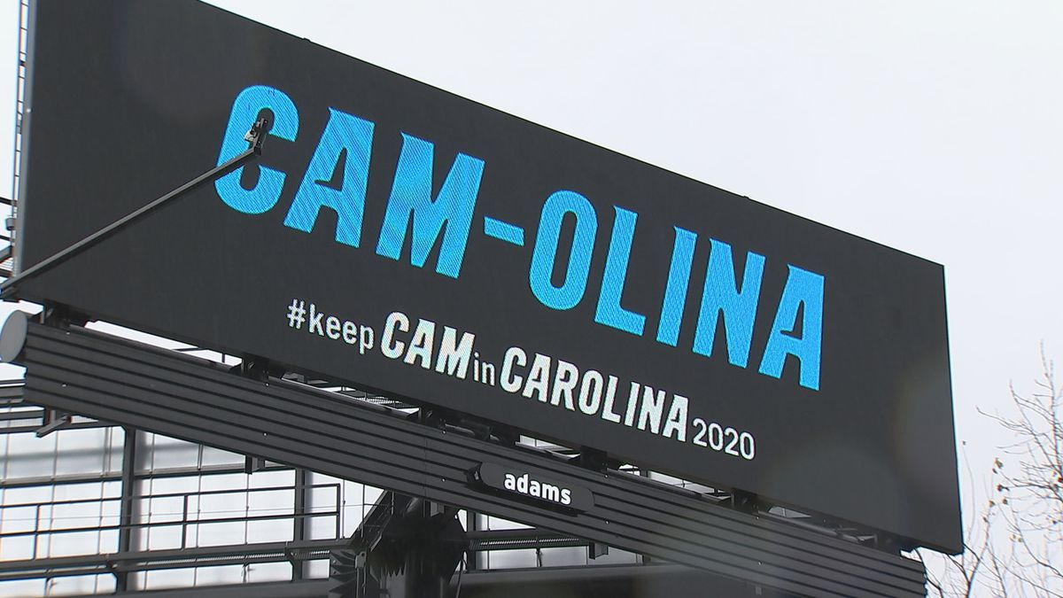 'Cam-olina': Billboards supporting Cam Newton pop up across Charlotte