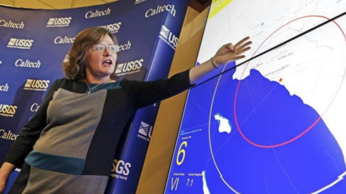 Who is the 'Earthquake Lady,' seismologist Dr. Lucy Jones?