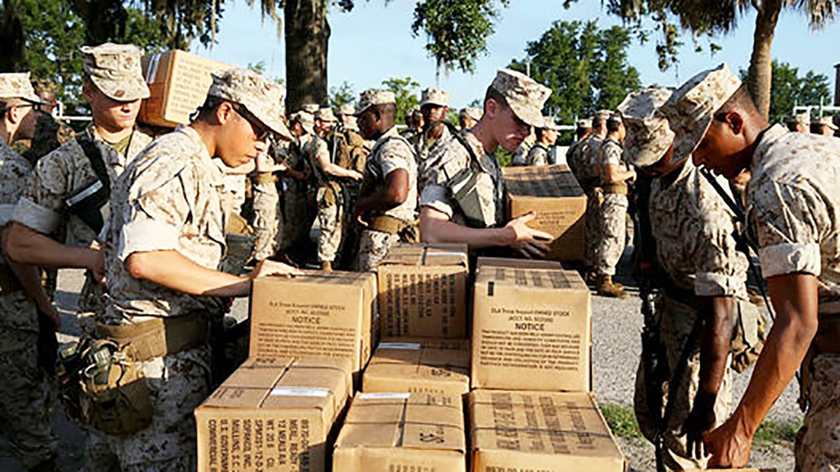 Camp Lejeune, other East Coast military bases brace for Florence