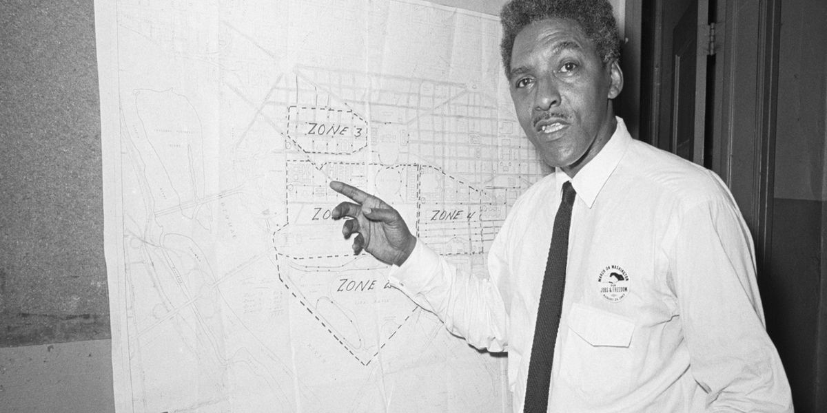Who was Bayard Rustin?