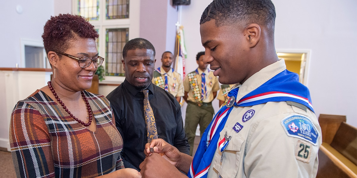 Project that benefits dialysis patients earns East Meck HS student rank of Eagle Scout