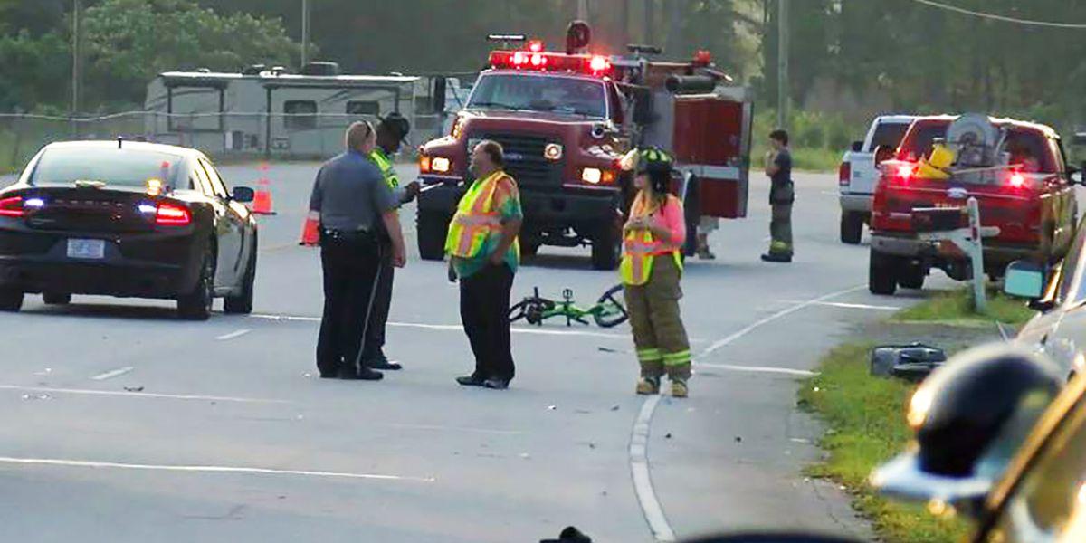 North Carolina child on bicycle struck, killed by car