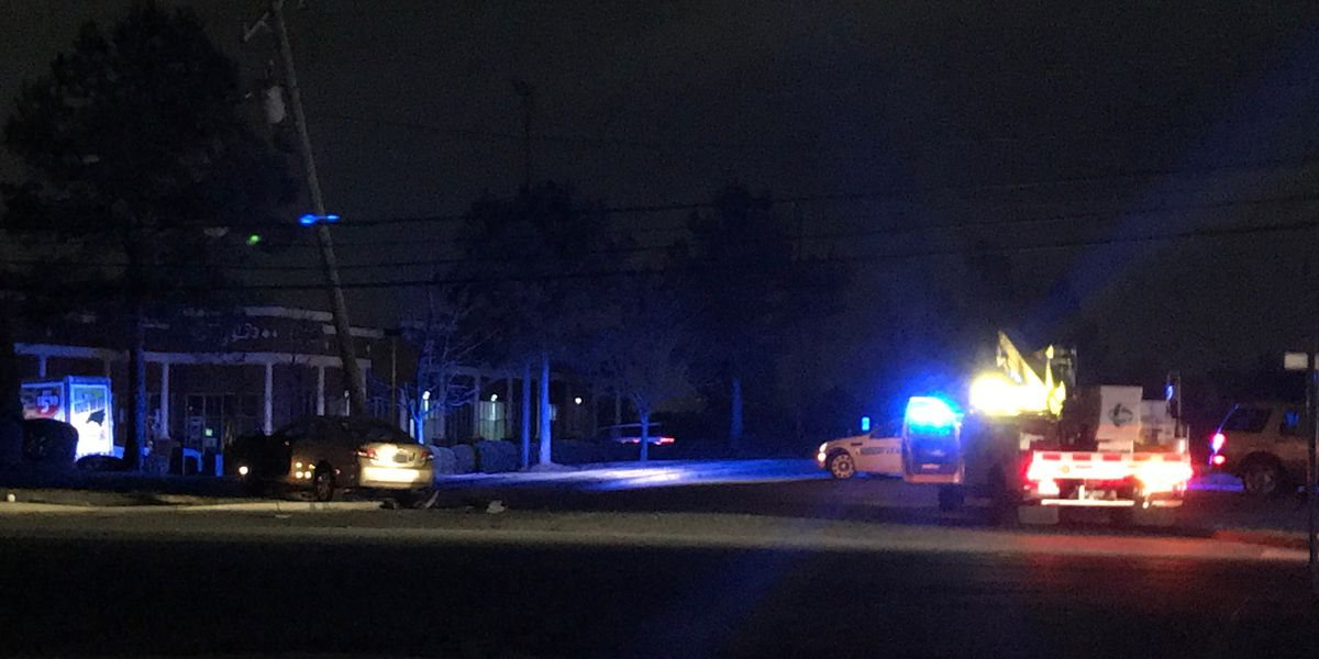 Power restored hours after car hits utility pole, leaving thousands in the dark