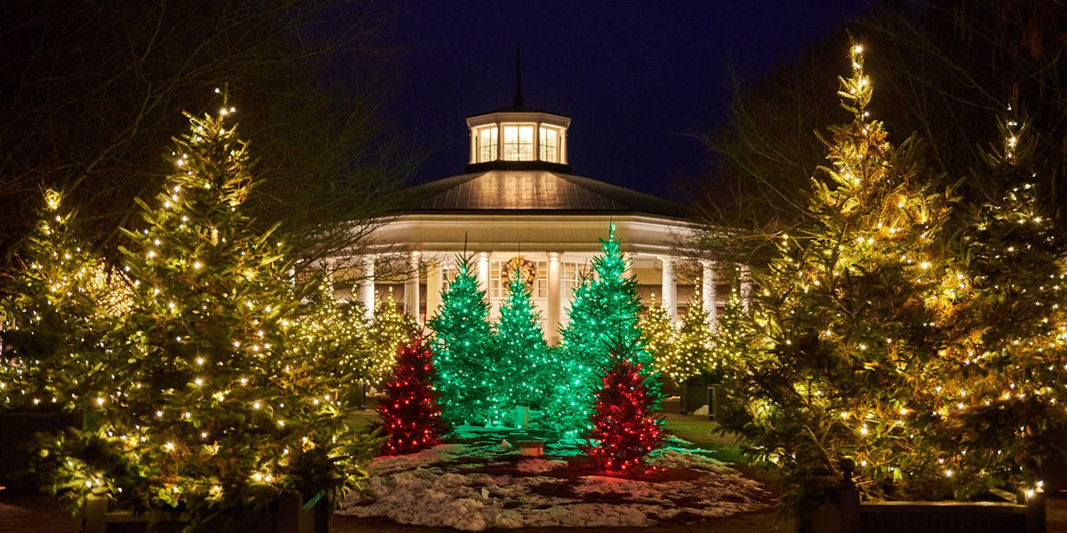 See how the Garden glows for the holidays