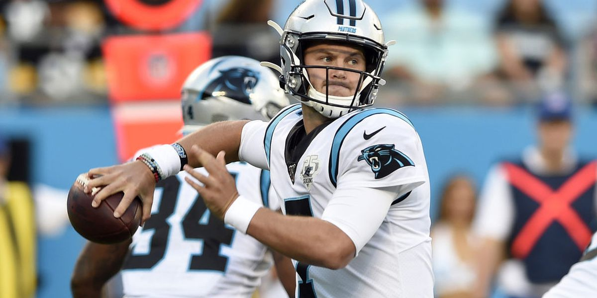 Panthers rule out Newton Sunday; QB Allen to start
