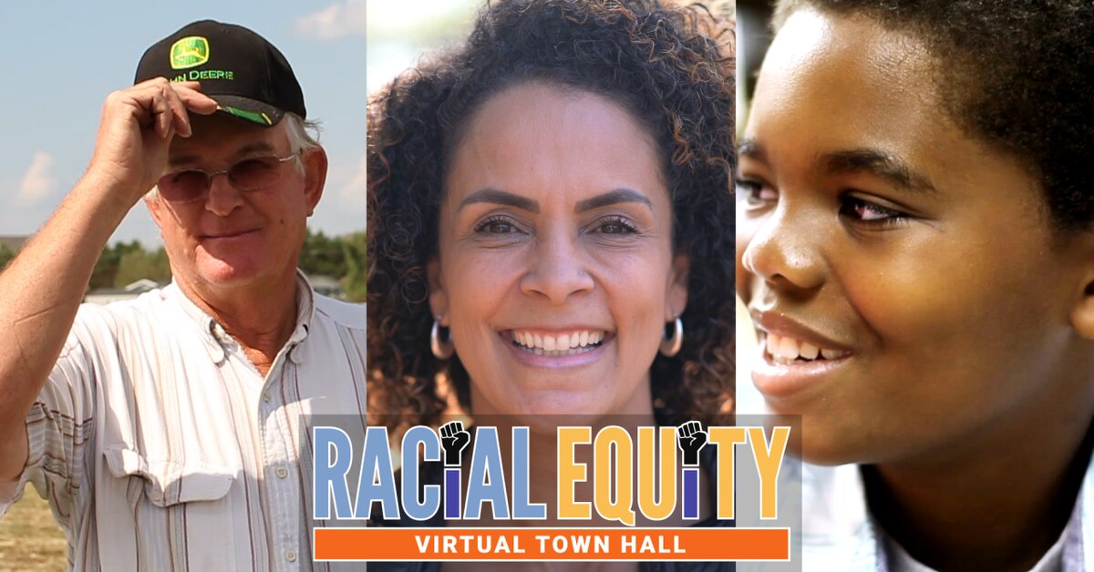 Free sign up for Racial Equity Challenge town hall
