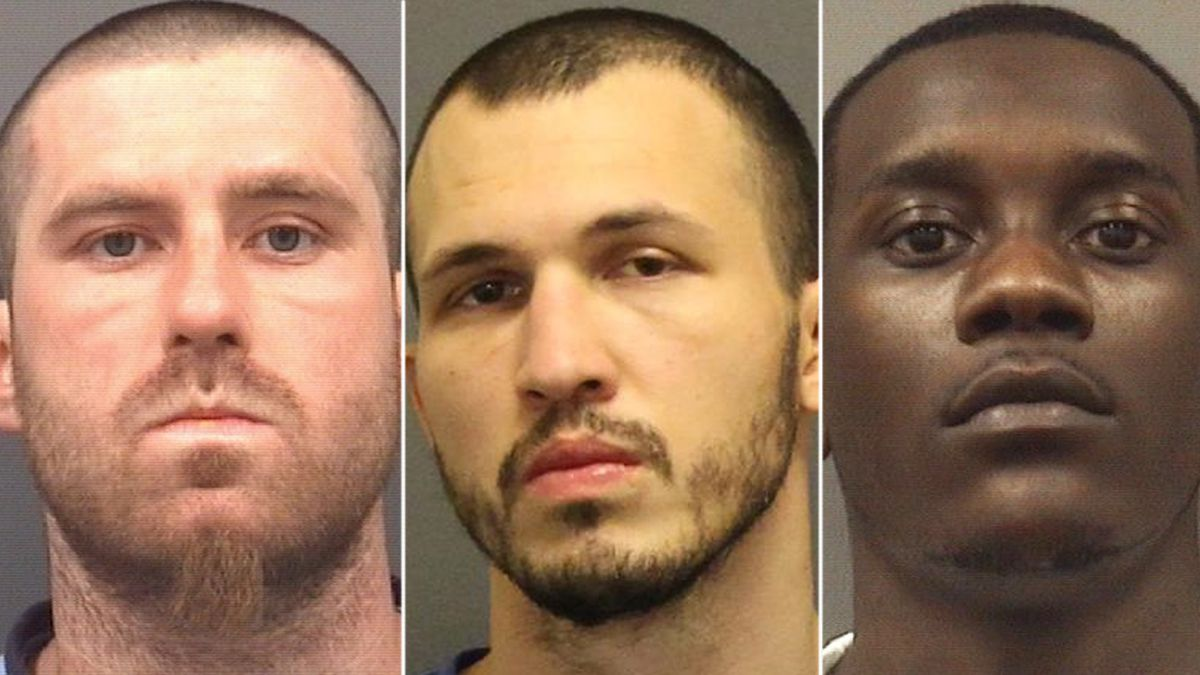 Trio arrested after 93-year-old man violently attacked in home invasion
