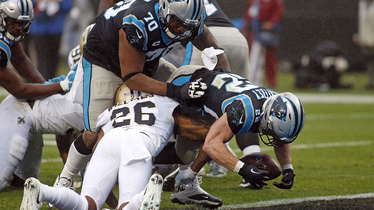 New Orleans Saints take care of Carolina Panthers, still hope for playoff bye