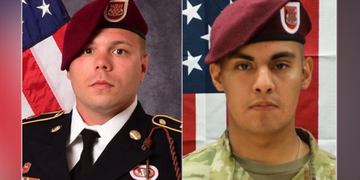 Roadside bomb in Afghanistan kills two Fort Bragg paratroopers, officials say