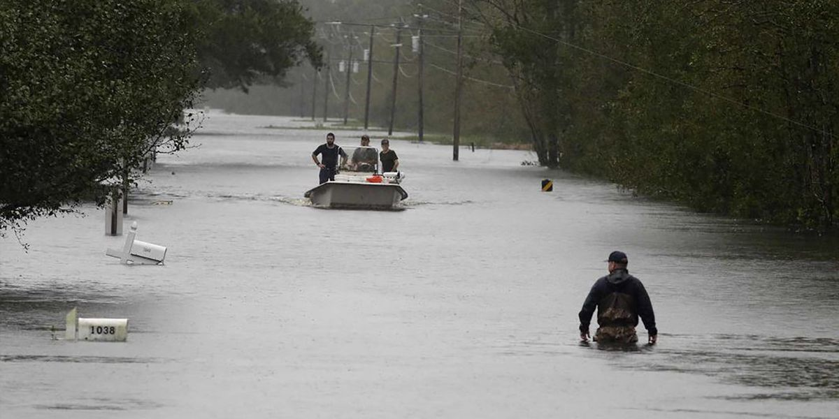 North Carolina residents consider fleeing as rivers rise