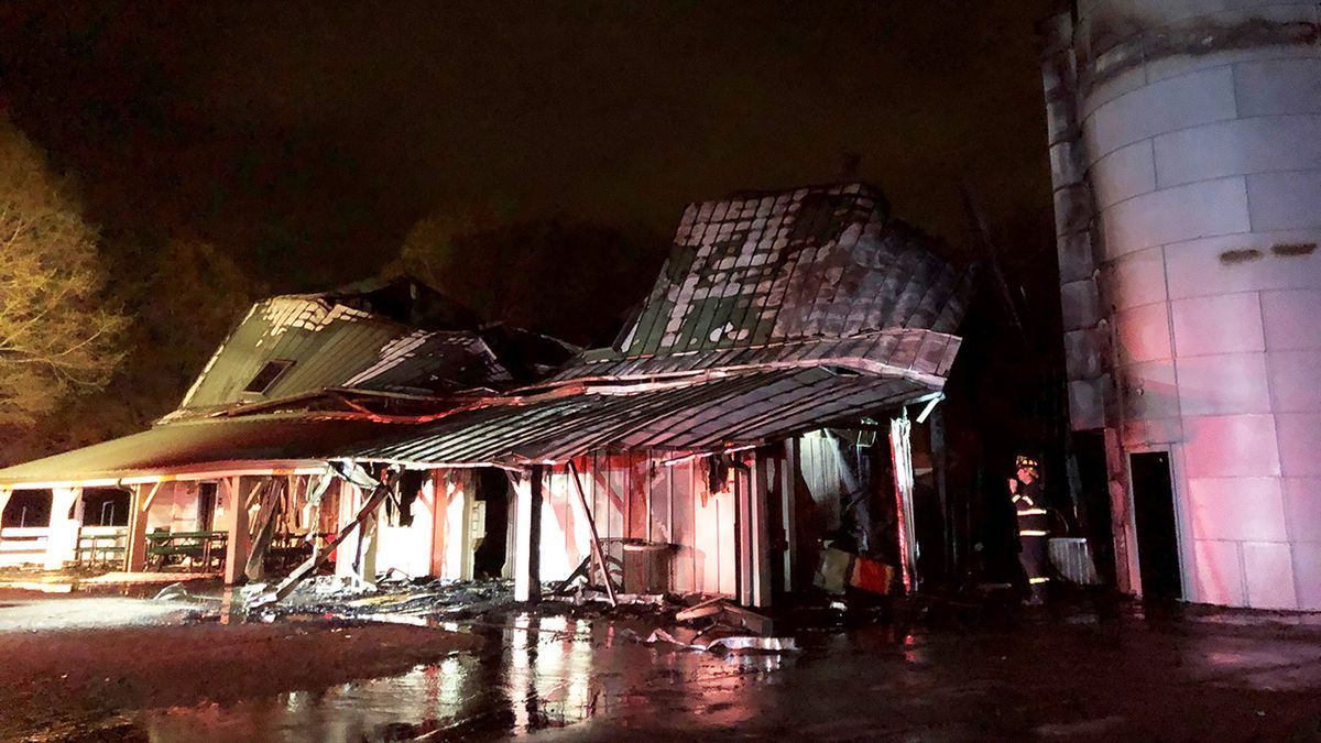 Barn fire at Frank Liske Park in Concord intentionally set, officials say