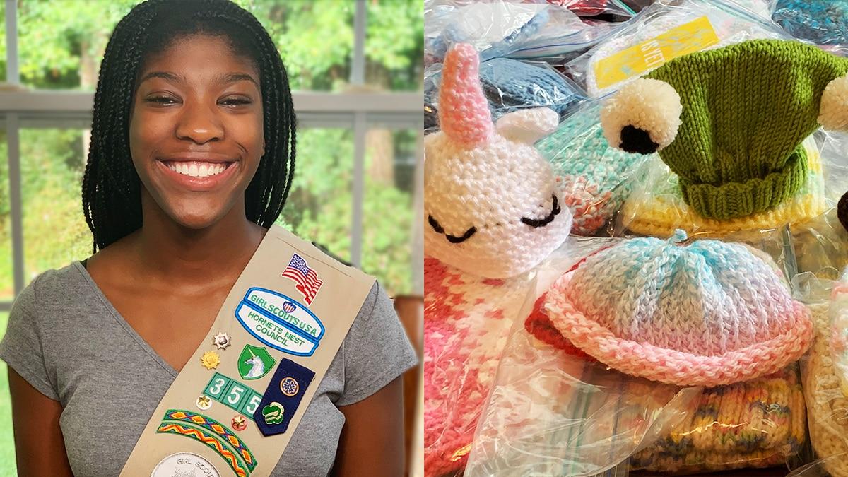Carolina teen receives Girl Scouts' highest award