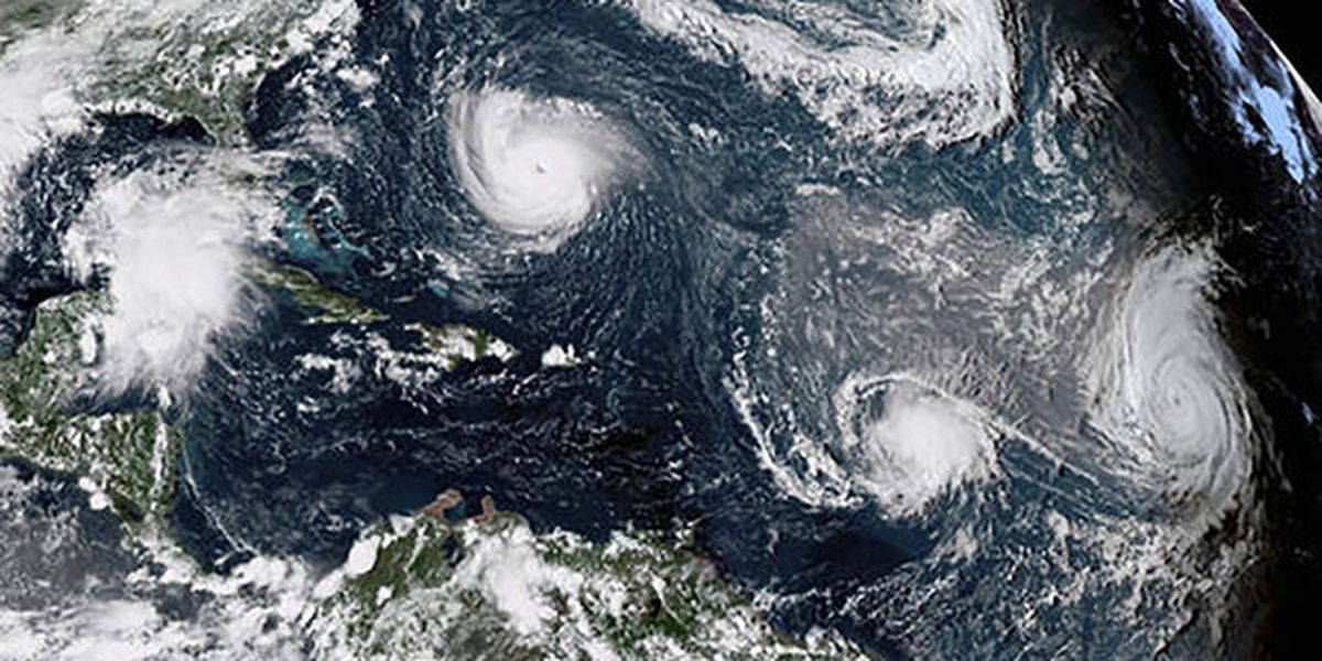 Tropical Storm Dorian forms in Atlantic, likely to grow; too early to tell path