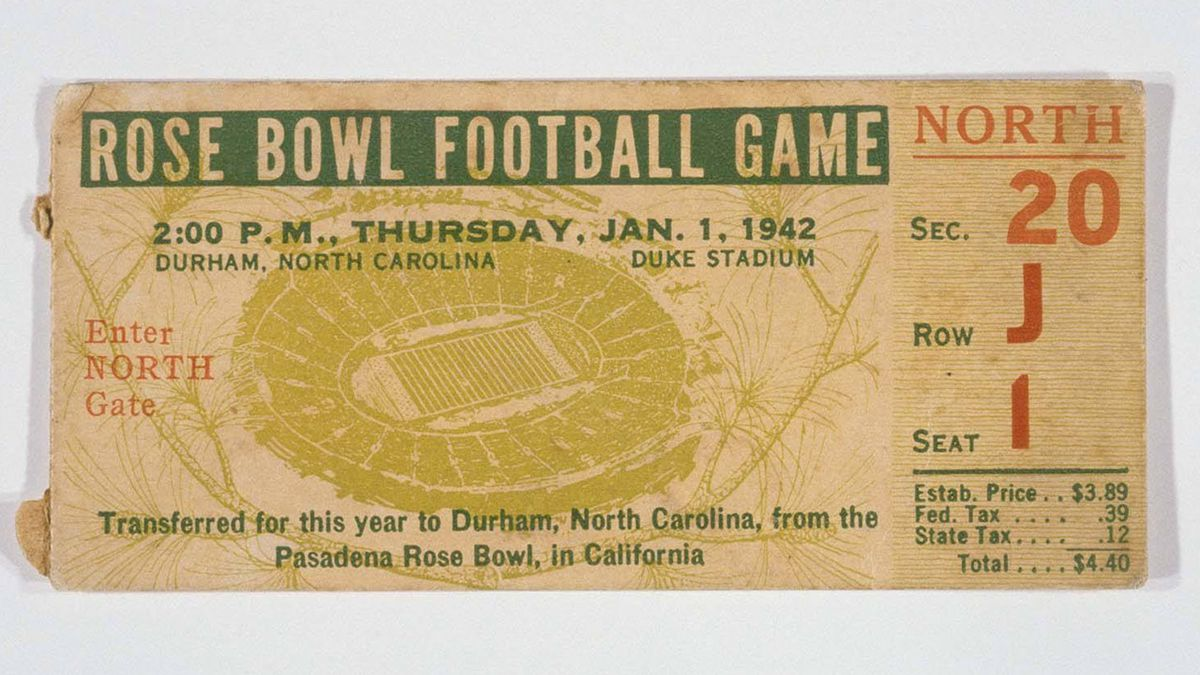 It happened: The Durham Rose Bowl