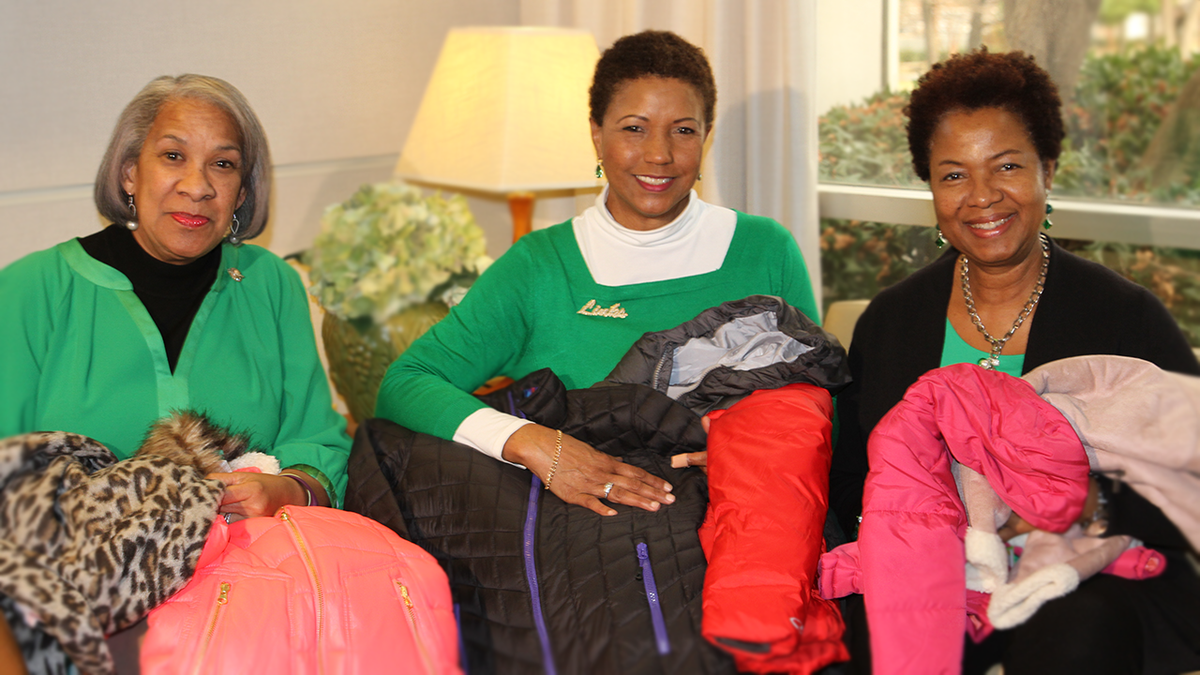 Linking children with coats through Steve's Coats for Kids